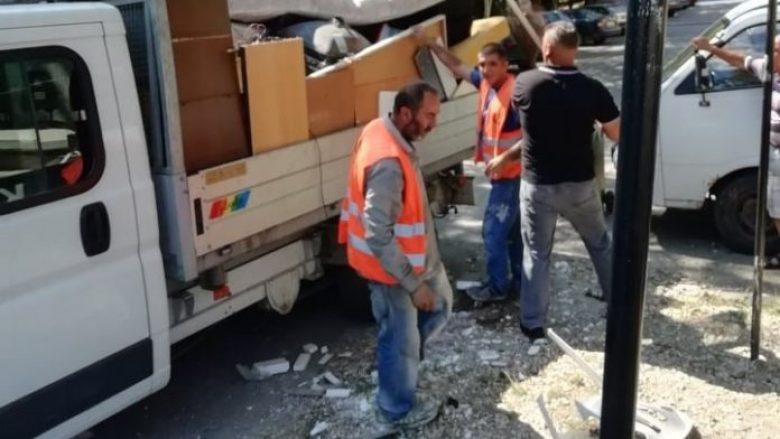 Largohen deponitë e egra në Shkup