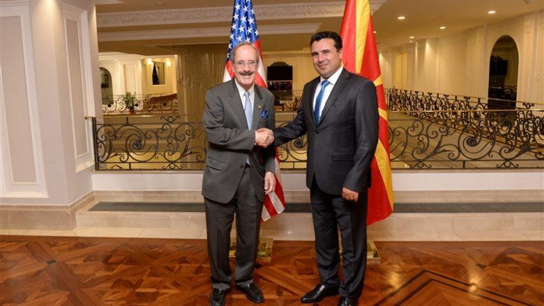 Kongresmeni Eliot Engel për vizitë zyrtare në Shkup