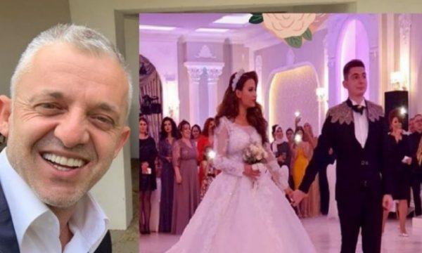 Djali i Halil Kastratit e 'kalli' atmosferën me bashkëshorten, dalin pamje nga dasma