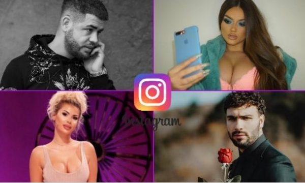 Personazhet shqiptare me mbi 1 milionë ndjekës në Instagram