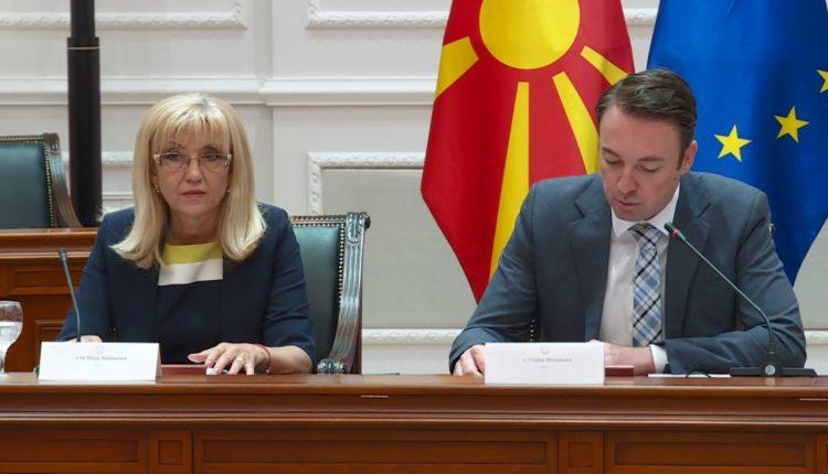 Maqedoni-Bullgari, memorandum bashkëpunimi infrastrukturor