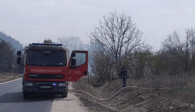 Shuhen zjarret në rrethinën e Shkupit