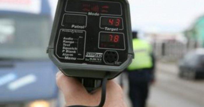 Sanksionohen 33 shoferë për tejkalim të shpejtësisë në Shkup