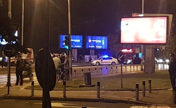 Aksident i rëndë trafiku në Shkup, lëndohen disa këmbësorë (FOTO)
