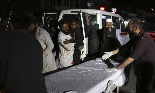 Pesë të vdekur e 50 të lënduar nga shpërthimi në Afganistan