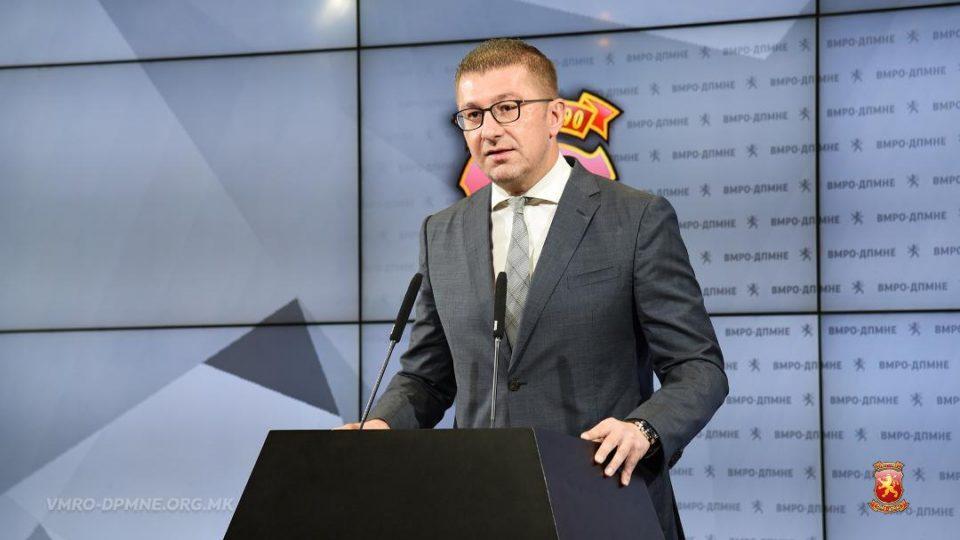 Dështimi i takimit të liderëve, Mickoski në konferencë për shtyp