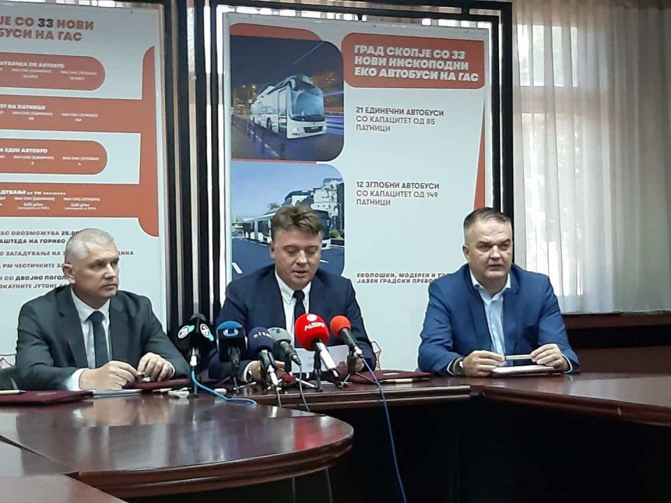 Shkupi me 33 eko autobusë të ri