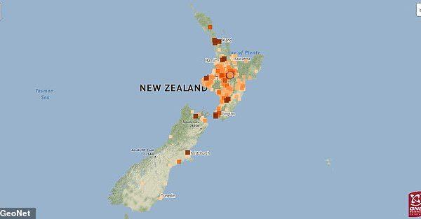 Zelanda e Re goditet nga tërmeti prej 5.2 shkallësh