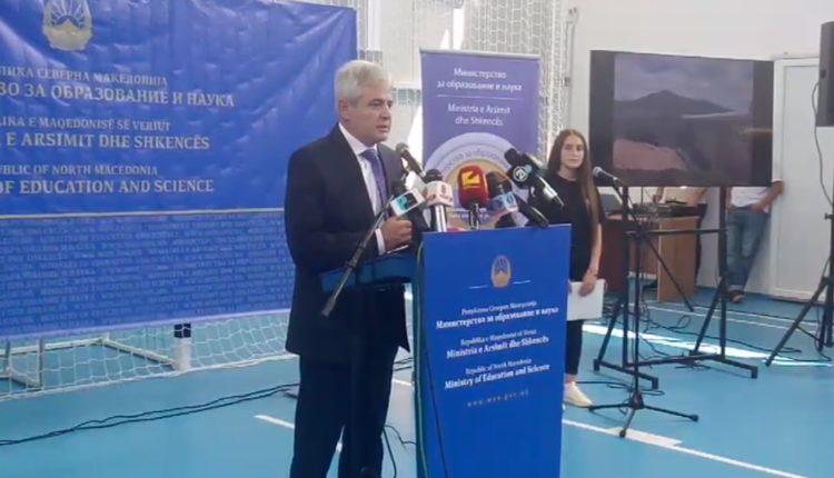Ahmeti, Duraku dhe Ademi, në Shipkovicë për hapjen e sallës së re sportive (VIDEO)
