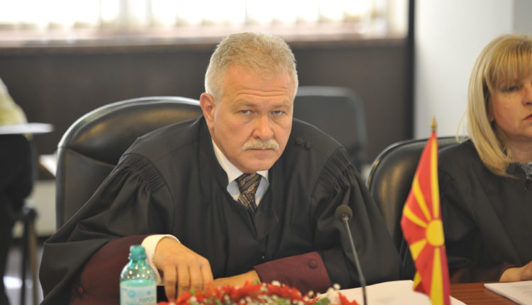 Këshilli Gjyqësor për herë të dytë do ta shqyrtojë raportin për shkarkimin e Jovo Vangellovskit
