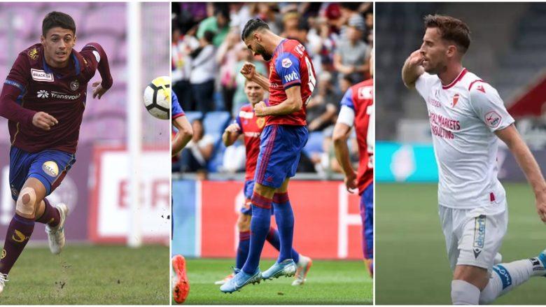 Futbollistët shqiptarë pushtojnë formacionin e javës në Zvicër