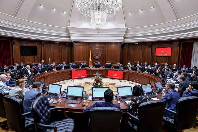 Seancë e Qeverisë, tema politika e jashtme, siguria, ekonomia
