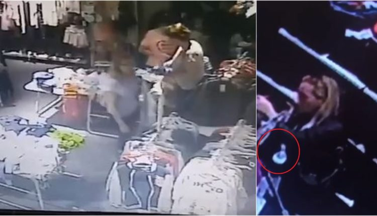 Publikohen pamjet e gruas që vjedh në City Mall, kërkohet nga policia e Maqedonisë së Veriut(VIDEO)