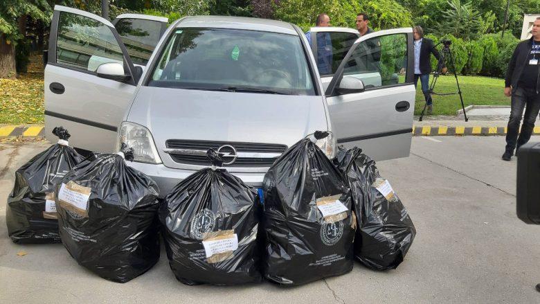 Në vendkalimin kufitar 'Bogorodicë' konfiskohen 51 kilogramë marihuanë
