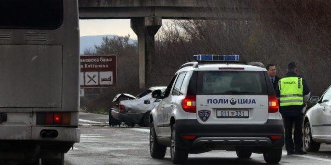 Shtatë persona janë lënduar më lehtë në aksidente trafiku në Shkup