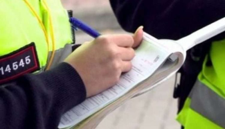 Për 24 orë, policia ka shqiptuar 1 mijë e 601 gjoba trafiku