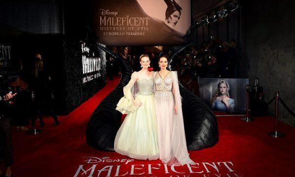 """Jolie, si një princeshë në premierën e """"Maleficent"""""""
