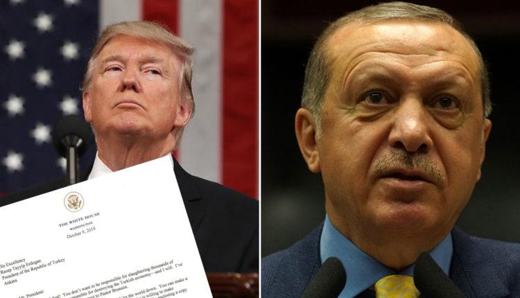 Presidenca turke: Erdogan e hodhi në kosh plehrash letrën e Trump