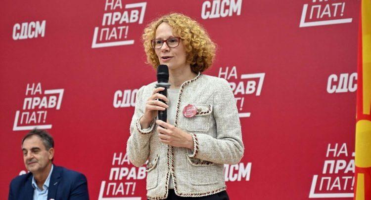 Shekerinska: Jemi në hap drejt anëtarësimit në NATO