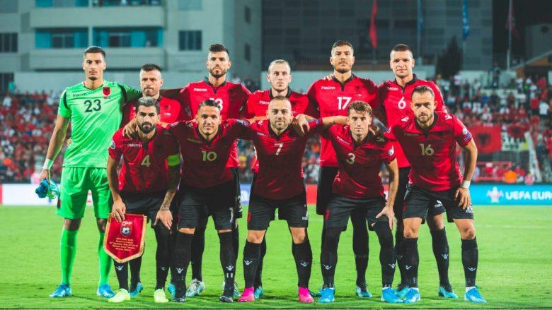 Kombëtarja e Shqipërisë pëson rënie në renditjen e re të FIFA-s