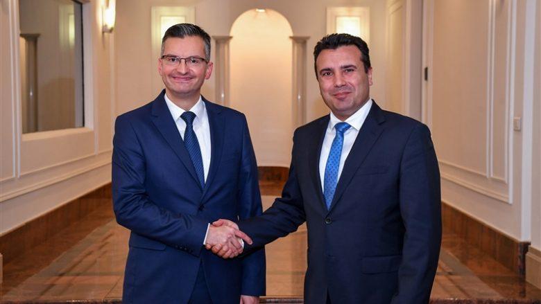 Zaev-Sharec: Mbështetje e qartë nga Sllovenia për vendim pozitiv nga KE