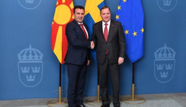 Zaev-Lofven në Stokholm: Mbështetje e fuqishme nga Mbretëria Suedeze për integrimet evropiane