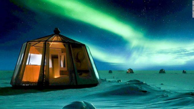 Hotel i pazakonshëm në Polin e veriut: 100.000 euro për dy net