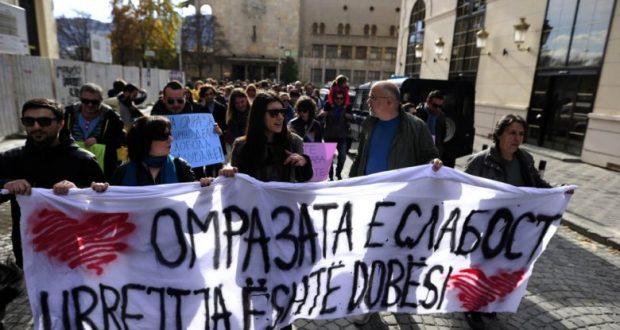 Shkup, marsh tolerance për të drejtat e njeriut