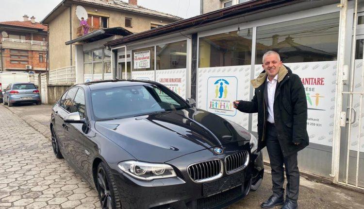 Tetovari me zemër të madhe ia fal BMW Halil Kastratit: E kam ba nijet me dhënë zeqat këtë makinë (FOTO)