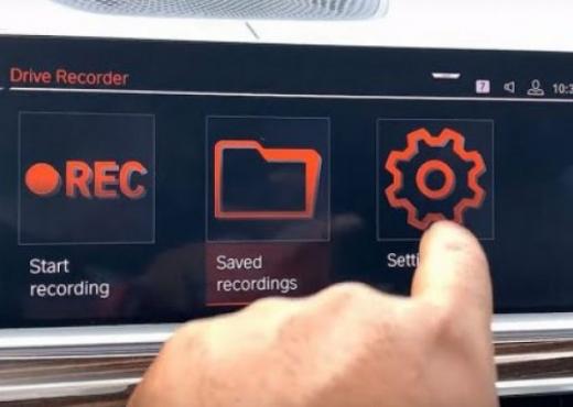 Si një kuti e zezë, kamera e BMW mban regjistrime në rast të aksidentit