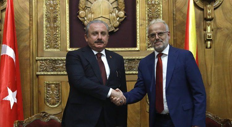 Xhaferi dhe Shentop: Marrëdhëniet ndërparlamentare do të kontribuojnë për thellimin e mëtejmë të bashkëpunimit