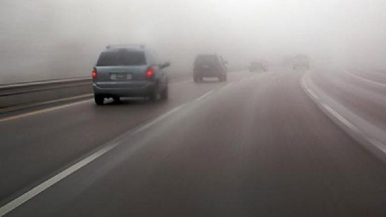 Mjegull në Kodrën e Diellit, ulet dukshmëria për 50 përqind