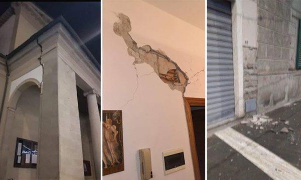 Tërmet i fortë në Itali