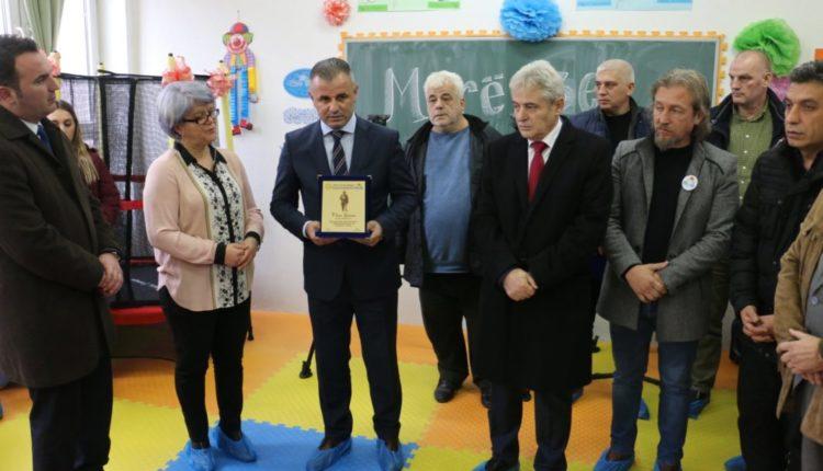 """Lëshohen në përdorim klasa senzorike për fëmijët me nevoja të posaçme në Shkollën Fillore """"Hasan Prishtina"""""""