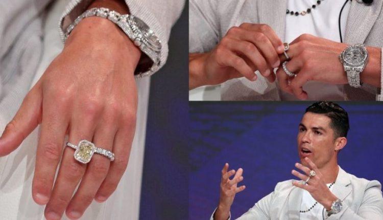 Mijëra euro vetëm në një dorë/ Ronaldo shfrenon fantazinë me unazat në paraqitjen e fundit