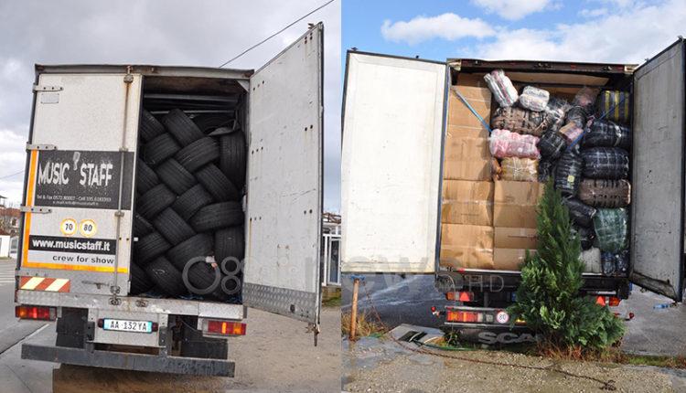 Kapen mallra kontrabandë në kufirin shqiptaro-maqedonas, 5 të arrestuar