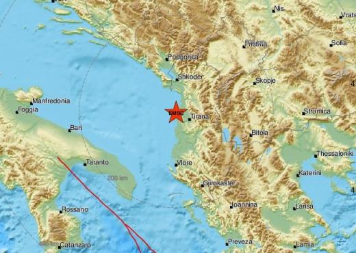 Sërish lëkundje të forta tërmeti, ja sa ishte magnituda