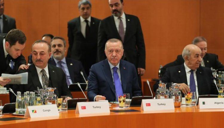 Erdogan largohet nga Gjermania pas konferencës për Libinë