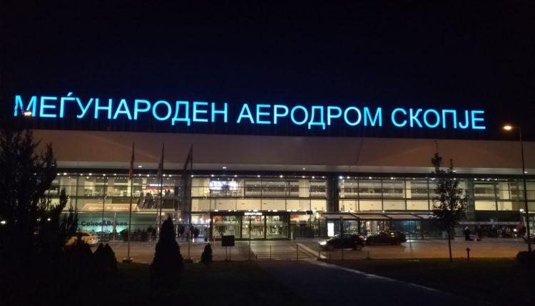 Virusi kinez, masa mbrojtëse në Aeroportin e Shkupit
