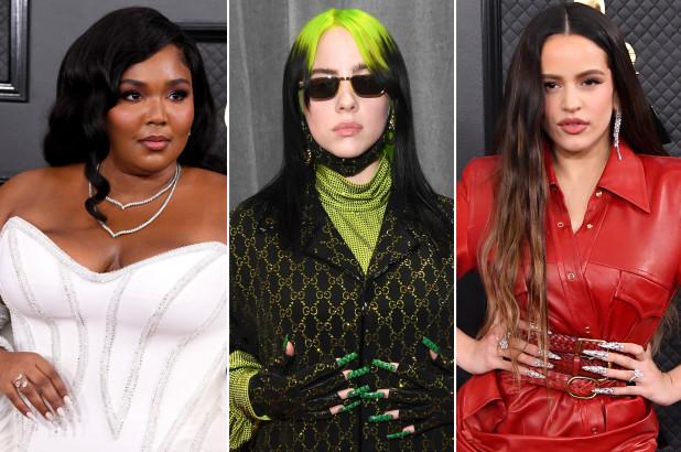 Thonjtë 'kthetra', trendi i tapetit të kuq në Grammys 2020