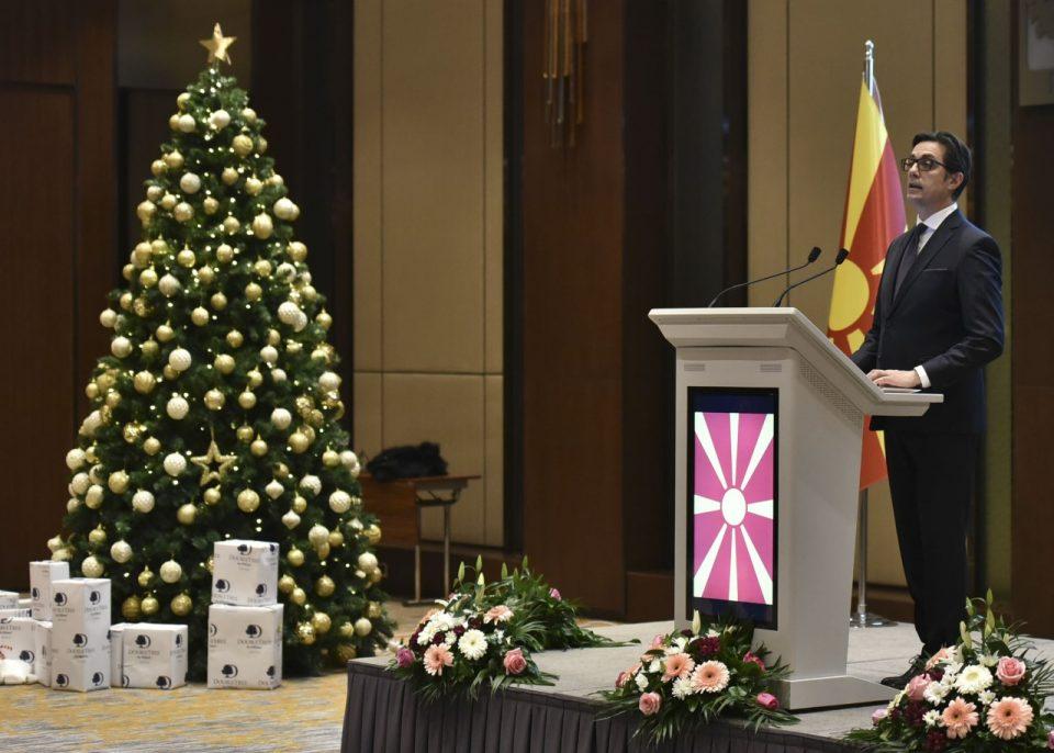 Pritje e presidentit Pendarovski për përfaqësuesit e korit diplomatik
