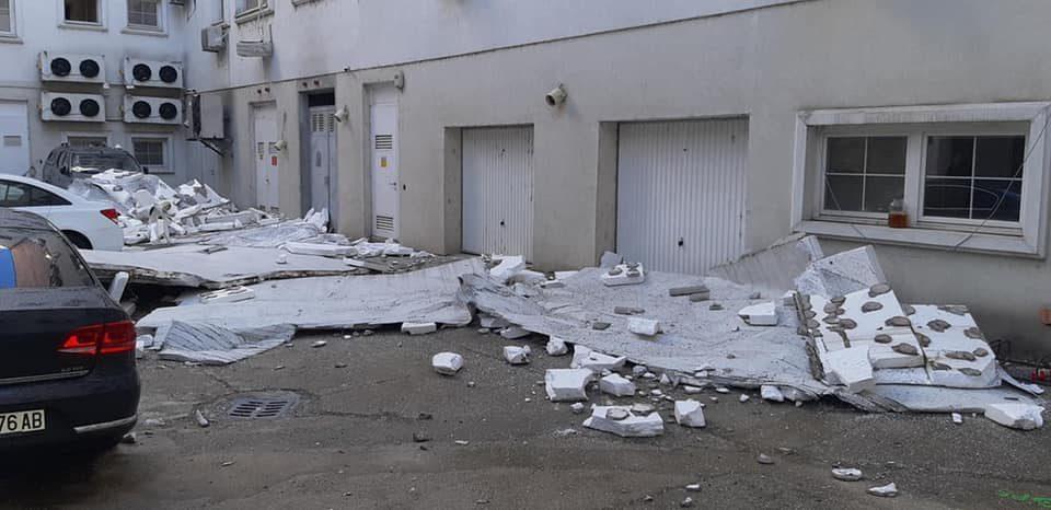 Era dëmton edhe fasadën milionëshe të MEPSO-s