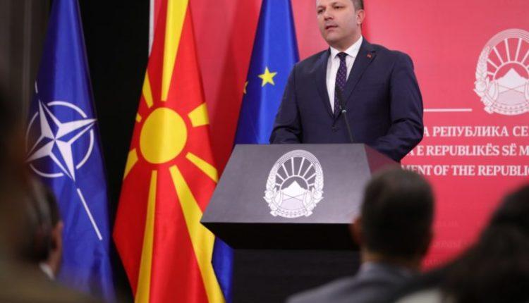 Spasovski: Mizrahin ta zëvendësojë dikush nga deputetët që votuan për Maqedoninë e Veriut dhe Protokollin për NATO-n