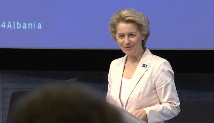 """""""Lajm i shkëlqyeshëm"""" Hapja e negociatave, presidentja e KE-së: Tani ta miratojnë liderët e BE-së"""