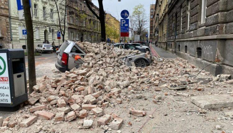 Dy tërmete të fuqishme tronditin Kroacinë (FOTO/ VIDEO)