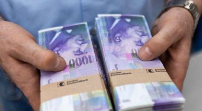 Brenda gjysmë ore, merr kredi pa interes deri në 500 mijë franka, kjo është Zvicra