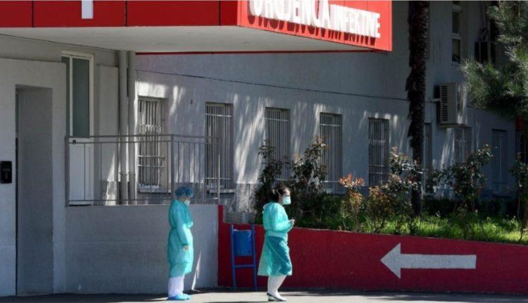 Ndërron jetë një tjetër pacient me koronavirus në Spitalin Infektiv në Shqipëri