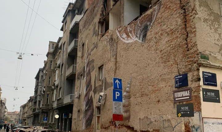 Tërmeti në Zagreb nëpërmjet fotografive