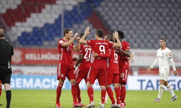 Bayern Munich e mund Frankfurtin për ta arritur finalen e Kupës së Gjermanisë