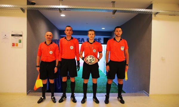 Gjyqtari i infektuar me Covid-19 ishte pjesë e ndeshjes Prishtina-Ferizaj